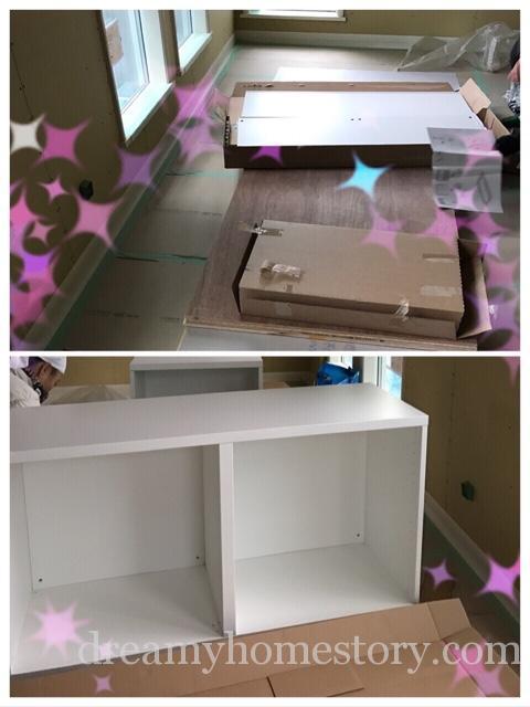 【キッチン】IKEAの吊り戸棚を購入&組み立て♪